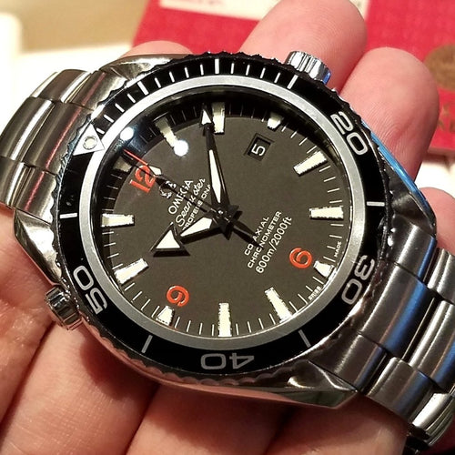 Omega Seamaster Panet Ocean Big Size 45.5mm 2200.51.00 (Out of Production)