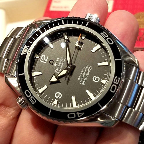 Omega Seamaster Panet Ocean Big Size 45.5mm 2200.50.00 (Out of Production)