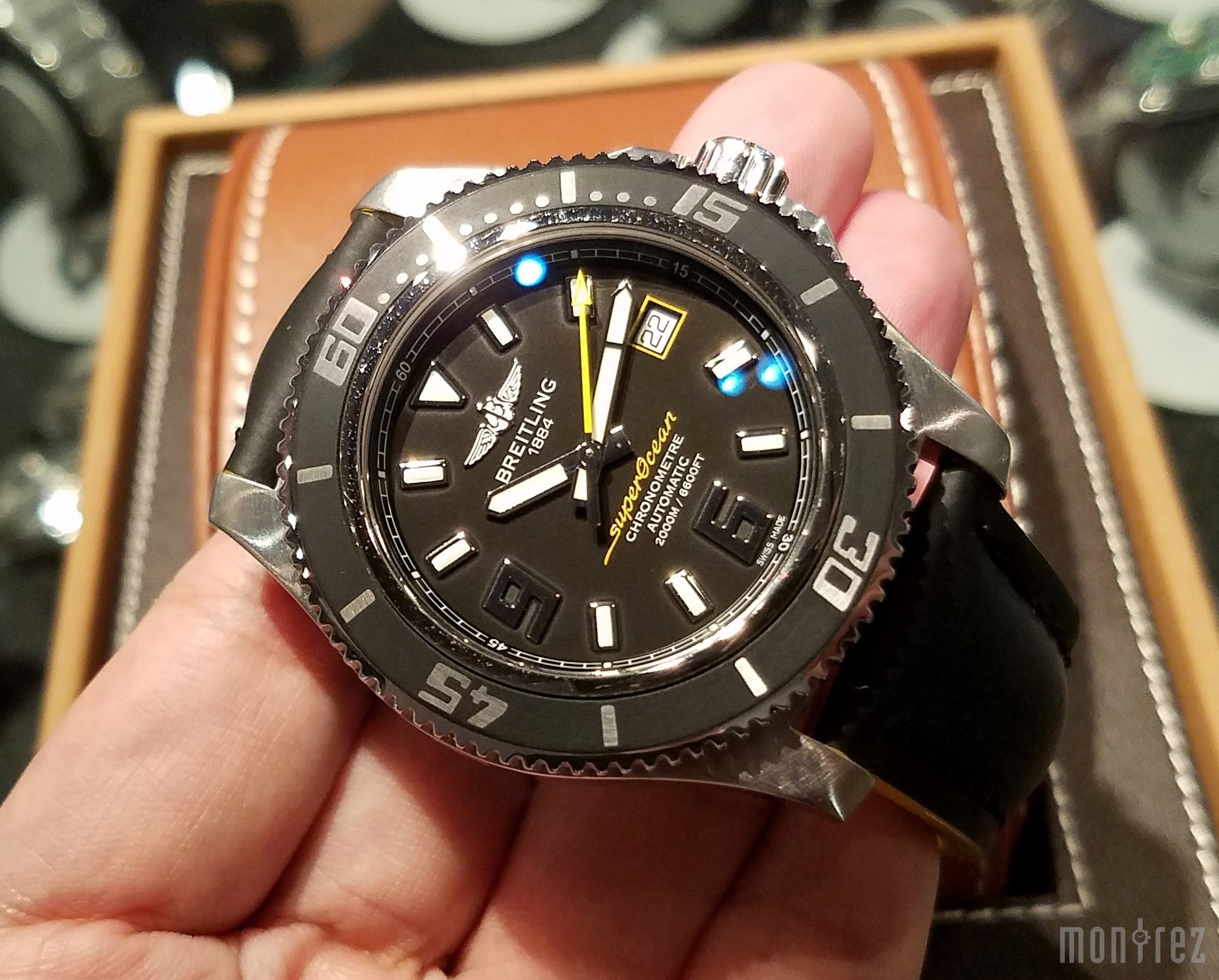 [Pre-Owned Watch] Breitling Superocean 44 Stainless Steel Automatic 44mm A1739102/BA78