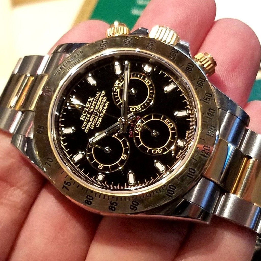 Rolex Cosmograph Daytona 40mm 116523 Black Dial (Out of Production) (888)