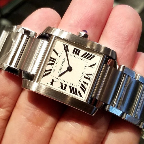 [Brand New Watch] Cartier Tank Francaise Watch 25mm WSTA0005