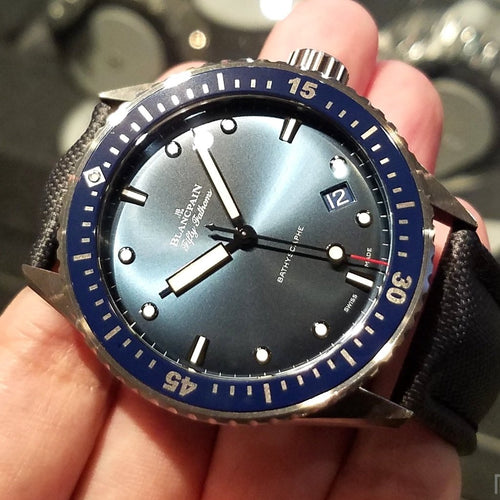 [Brand New Watch] Blancpain Fifty Fathoms Bathyscaphe 43.6mm 5000-0240-O52A