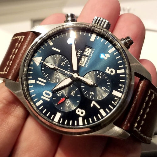 "IWC Pilot's Watch Chronograph Edition ""Le Petit Prince"" 43mm IW377714"