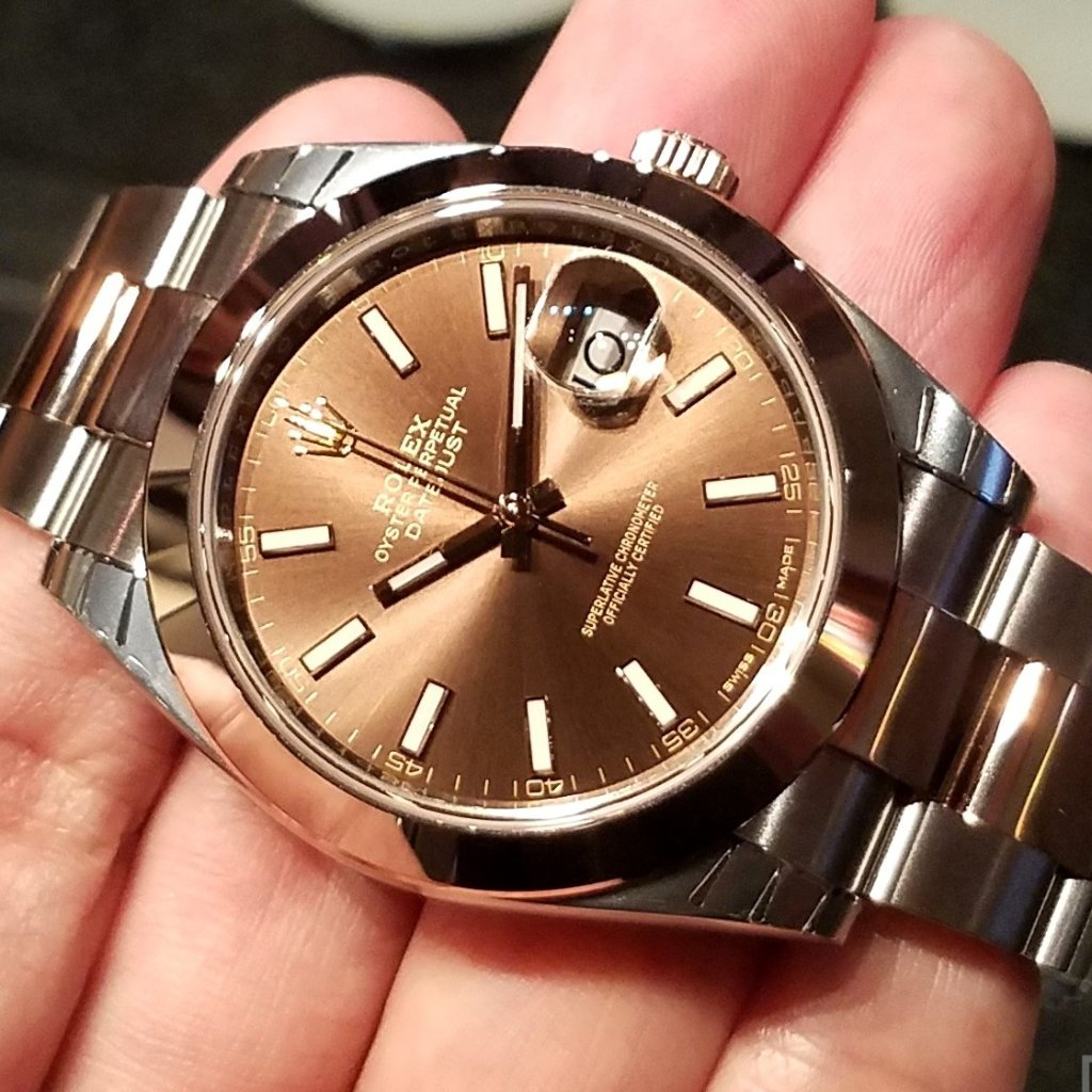 Rolex Datejust 41mm 126301 Chocolate Index Dial (Oyster Bracelet)