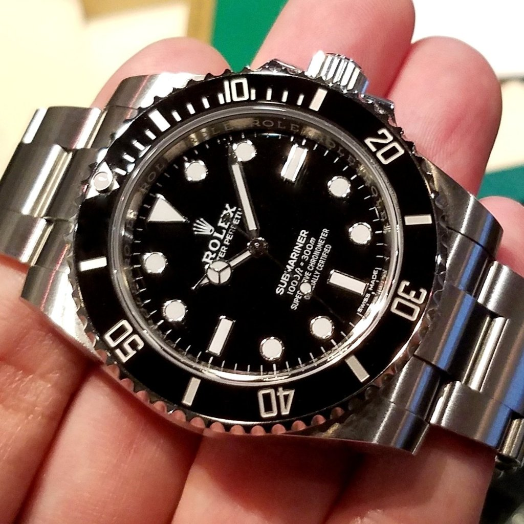 Rolex Submariner No Date 40mm 114060
