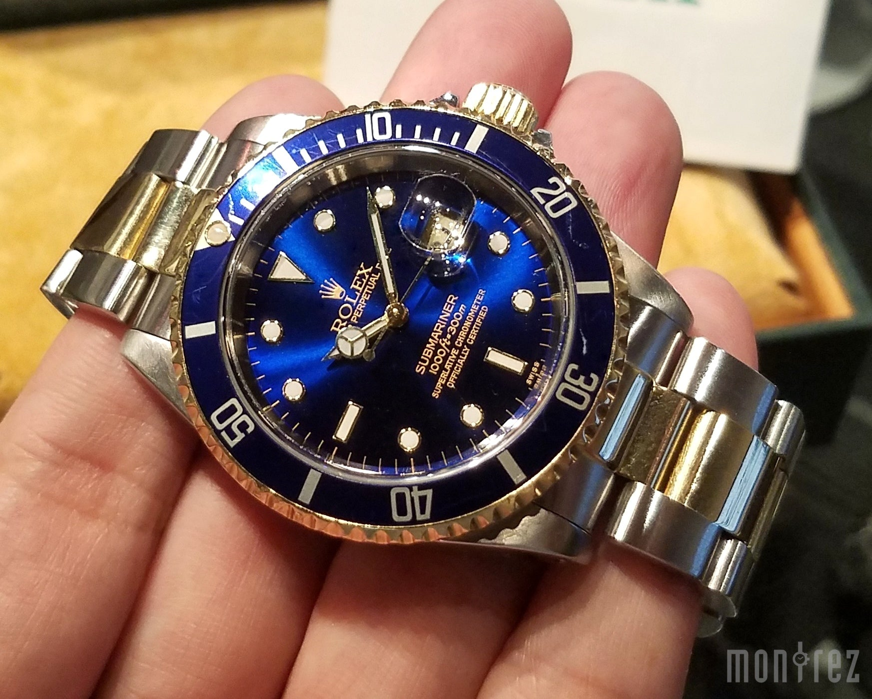 Rolex Submariner 40mm 16613 Blue Dial (Out of Production)