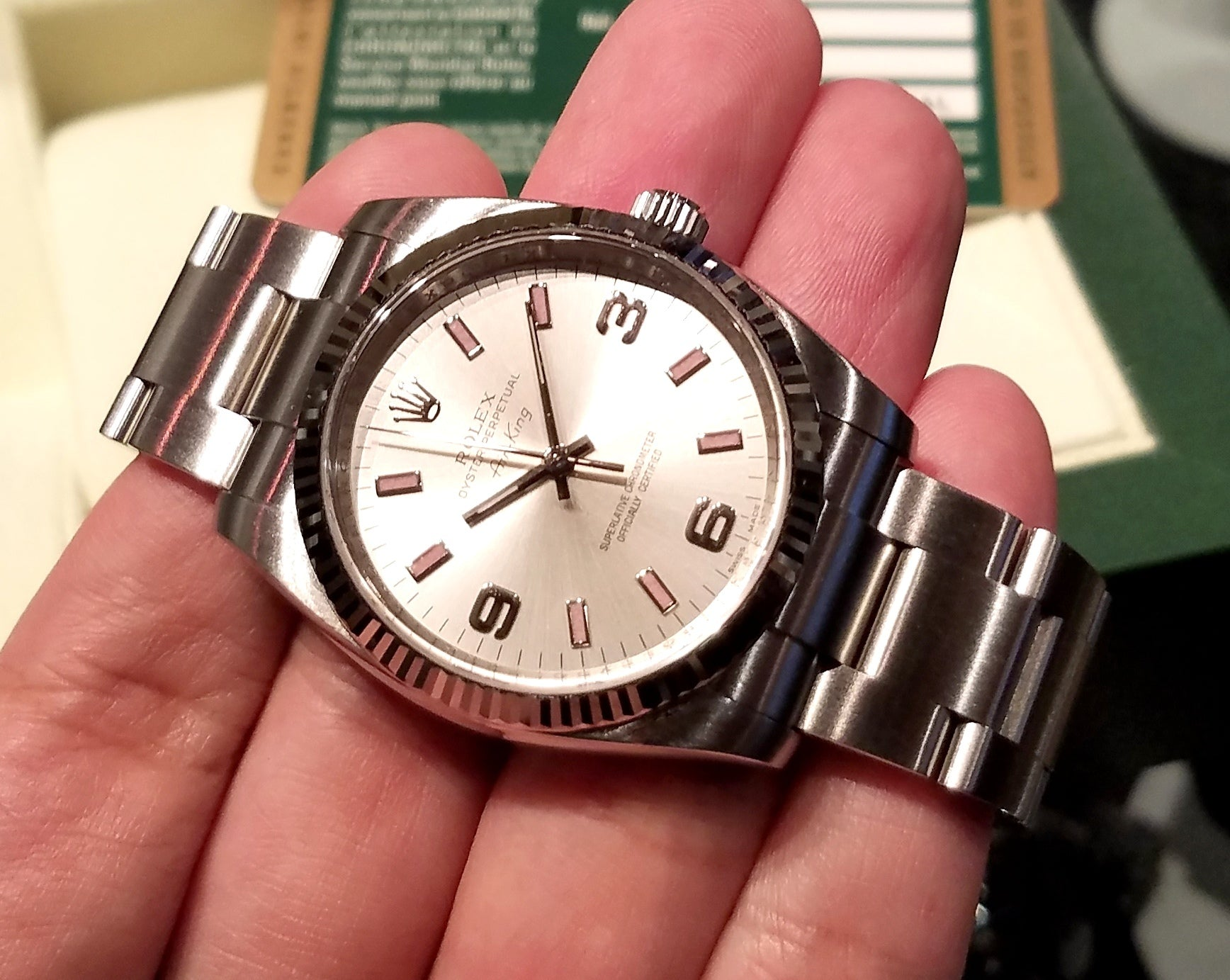 Rolex Air-King 34mm 114234 Silver Dial (Out of Production) (888)