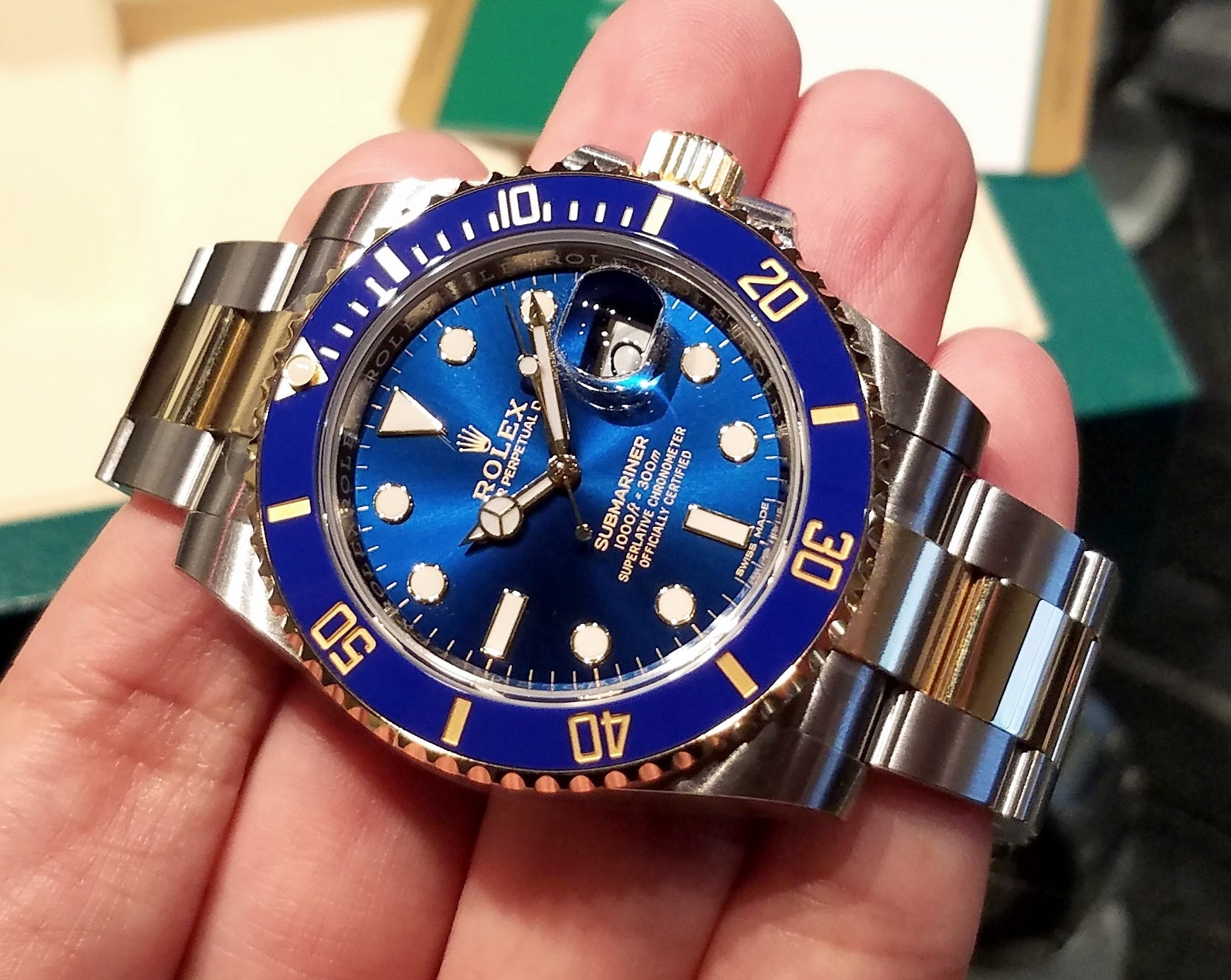 Rolex Submariner Date 40mm 116613LB (888)