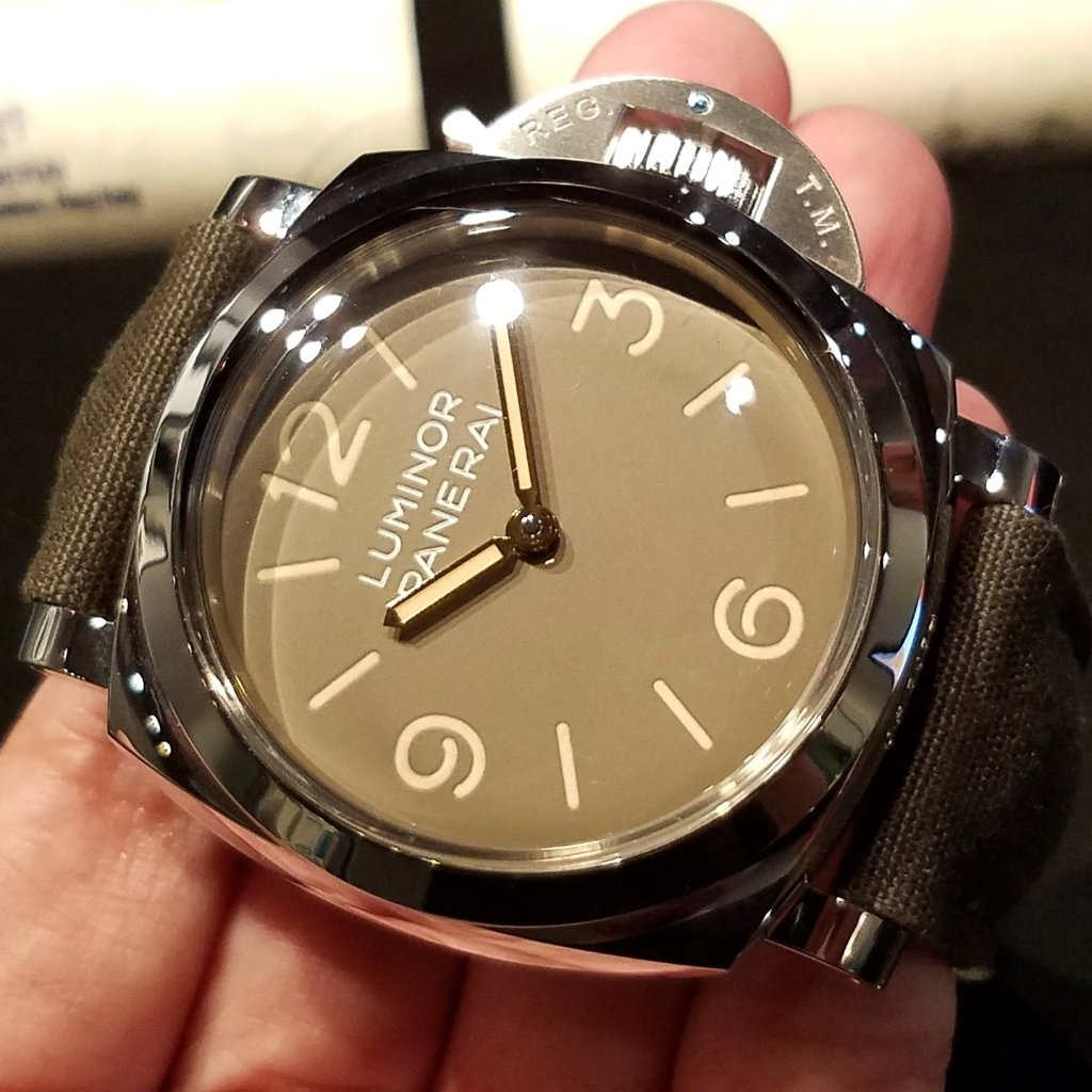 Panerai Luminor 1950 3 Days Acciao 47mm PAM00663 (Special Edition of 1000 Pieces)