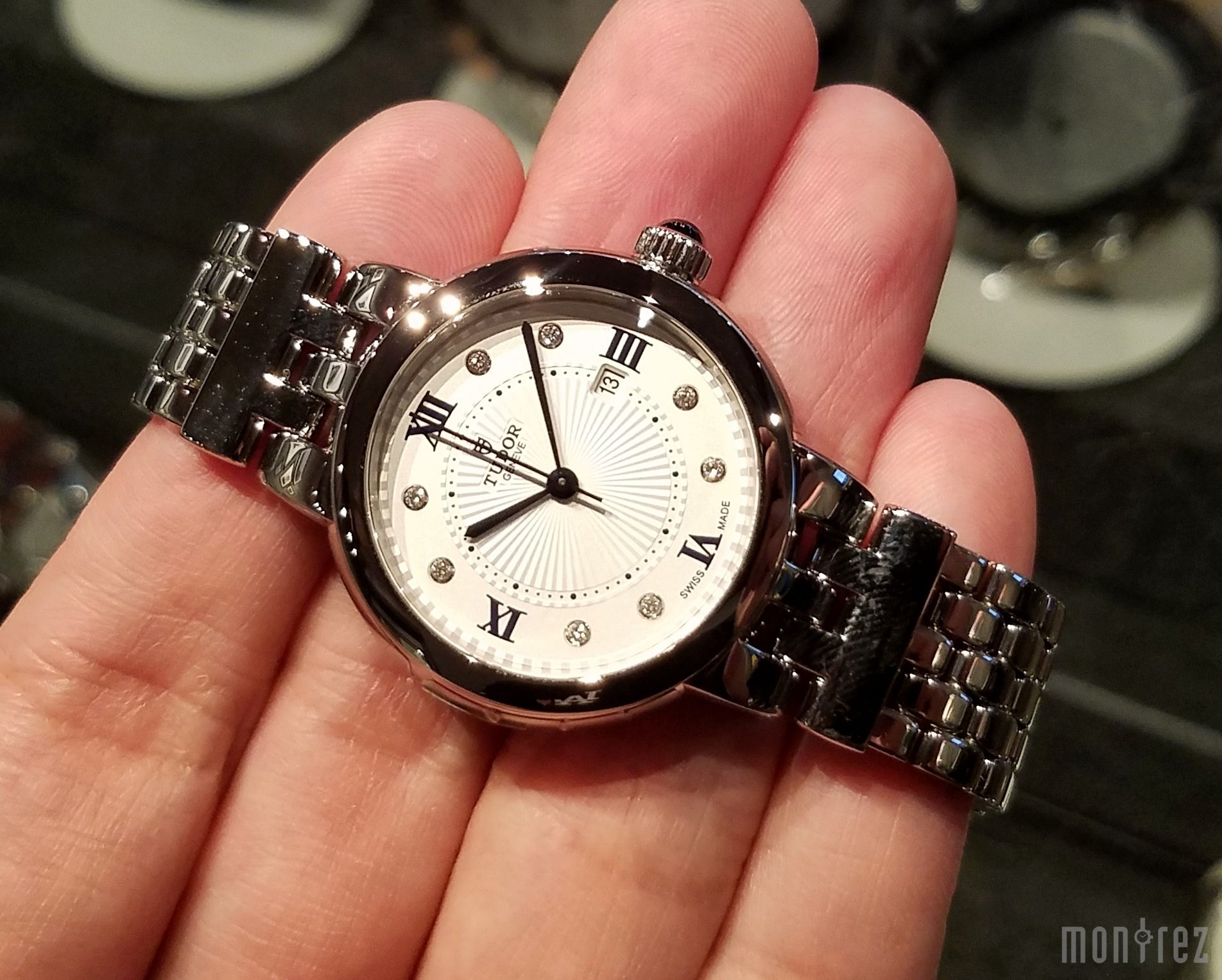Tudor Clair de Rose 30mm 35500 (Steel Bracelet)