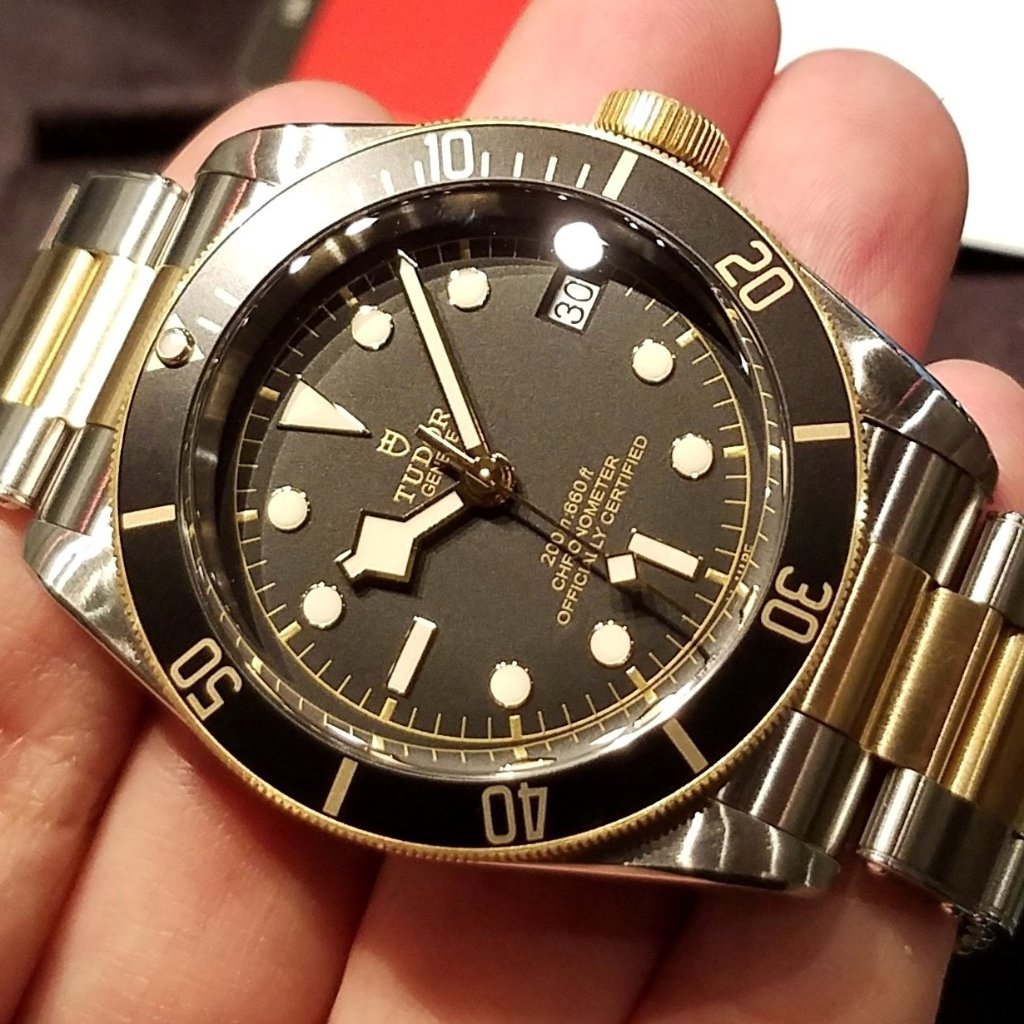 Tudor Heritage Black Bay S&G 41mm 79733N (Steel & Gold Bracelet) (888)