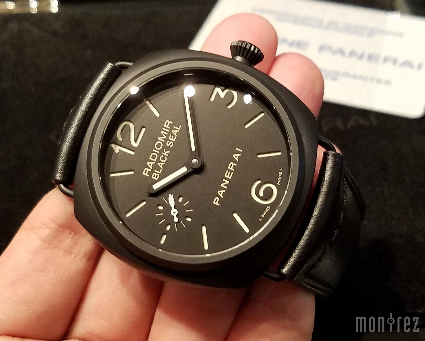 Panerai Radiomir Black Seal Ceramica 45mm PAM00292 (Out of Production)