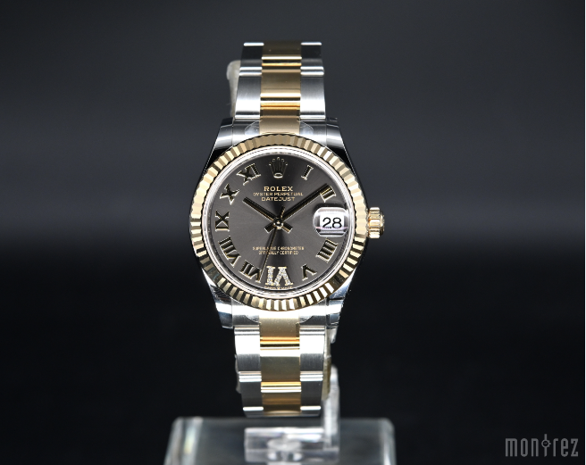 [Brand New Watch] Rolex Datejust 31mm 278273 Rhodium Roman Dial with VI Diamonds (Oyster Bracelet)