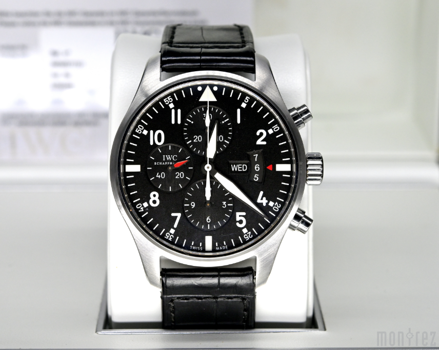 [Pre-Owned Watch] IWC Pilot's Watch Chronograph 43mm IW377701 (Out of Production)