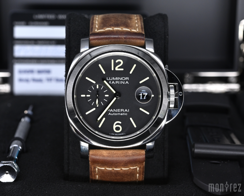 [Pre-Owned Watch] Panerai Luminor Marina Automatic Acciaio 44mm PAM01104