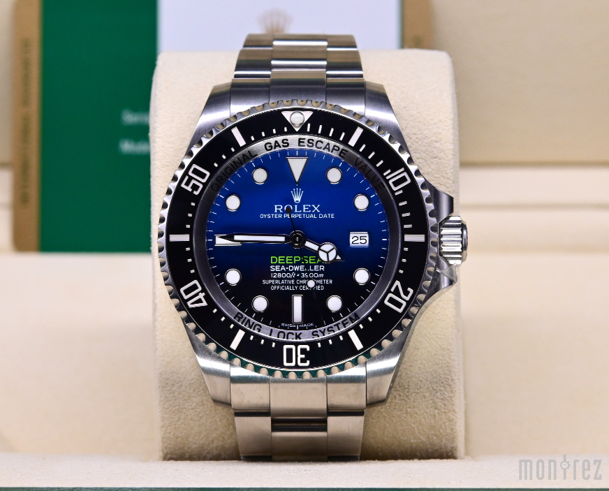 [Pre-Owned Watch] Rolex Deepsea 44mm 116660 D-Blue Dial (Out of Production) (888)