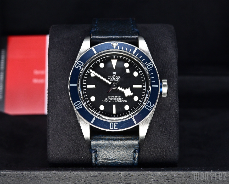 [Pre-Owned Watch] Tudor Heritage Black Bay 41mm 79230B (Leather Strap) (888)