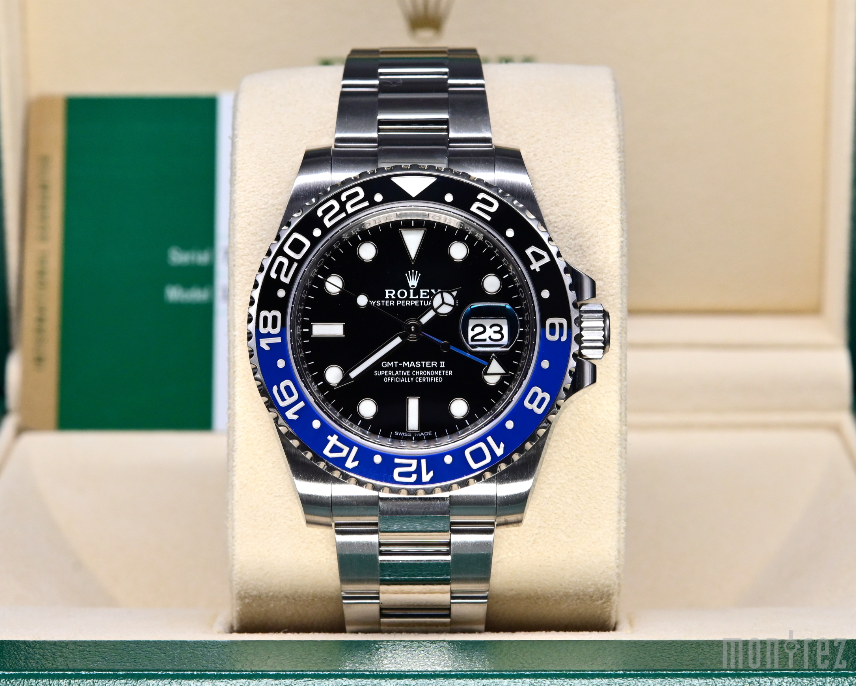 [Pre-Owned Watch] Rolex GMT-Master II 40mm 116710BLNR (888) (Out of Production)