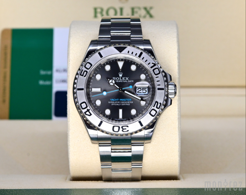 [Pre-Owned Watch] Rolex Yacht-Master 40mm 116622 Rhodium Dial