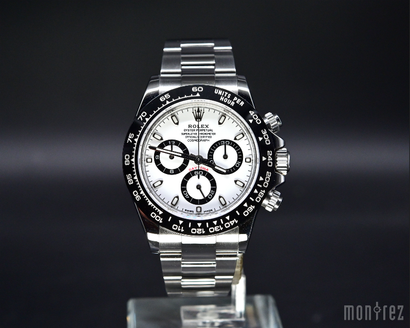 [Pre-Owned Watch] Rolex Cosmograph Daytona 40mm 116500LN White Dial (888)