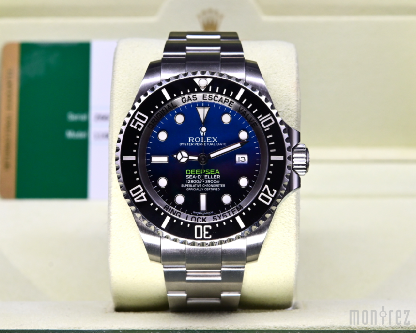 [Pre-Owned Watch] Rolex Deepsea 44mm 116660 D-Blue Dial (Out of Production)