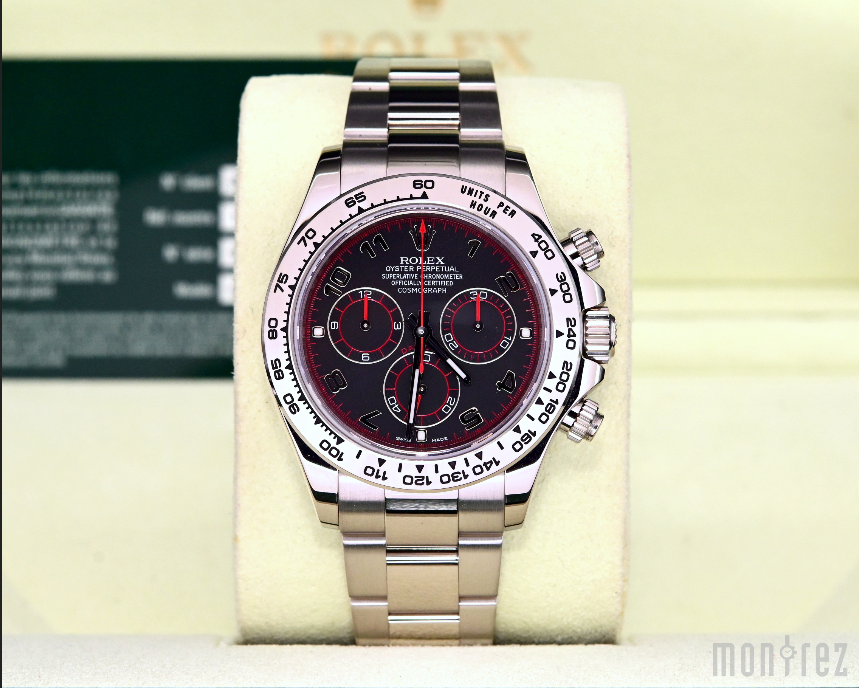 [Pre-Owned Watch] Rolex Cosmograph Daytona 40mm 116509 Black Arabic Dial (Out of Production) (888)