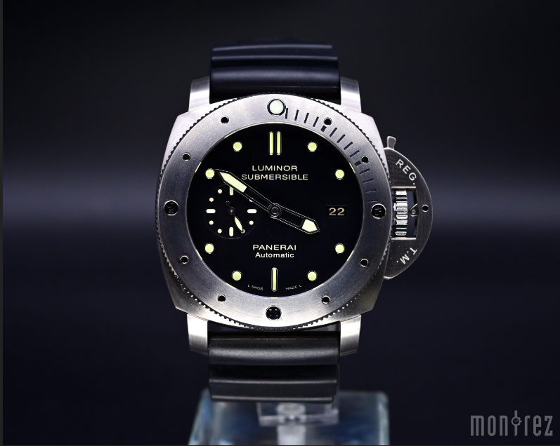 [Pre-Owned Watch] Panerai Luminor Submersible 1950 3 Days Automatic Titanio 47mm PAM00305