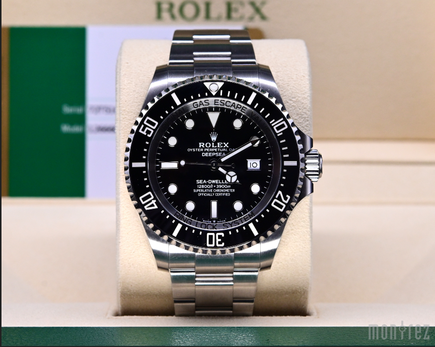 [Pre-Owned Watch] Rolex Deepsea 44mm 126660 Black Dial (888)