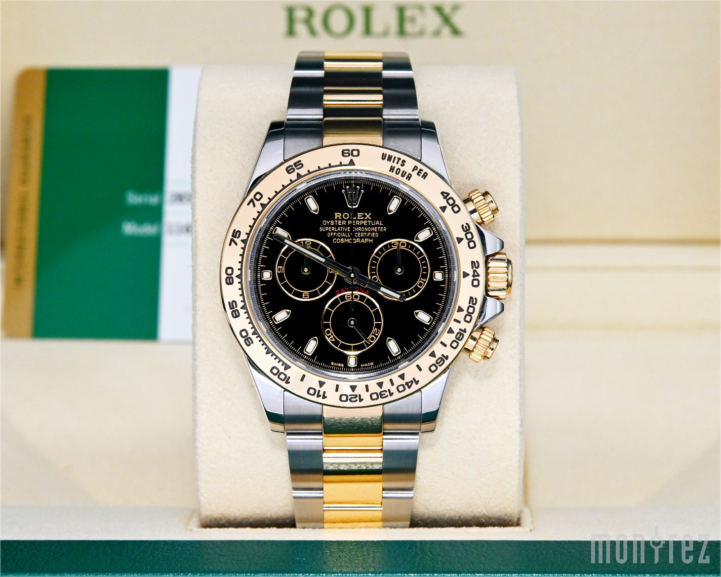 [Pre-Owned Watch] Rolex Cosmograph Daytona 40mm 116503 Black Dial (888)