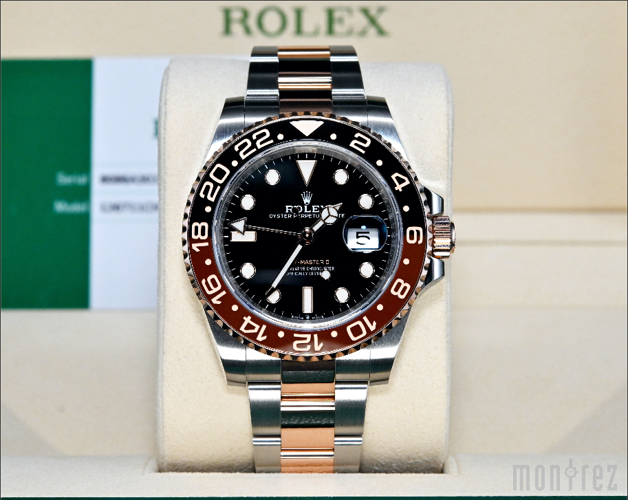 [Pre-Owned Watch] Rolex GMT-Master II 40mm 126711CHNR