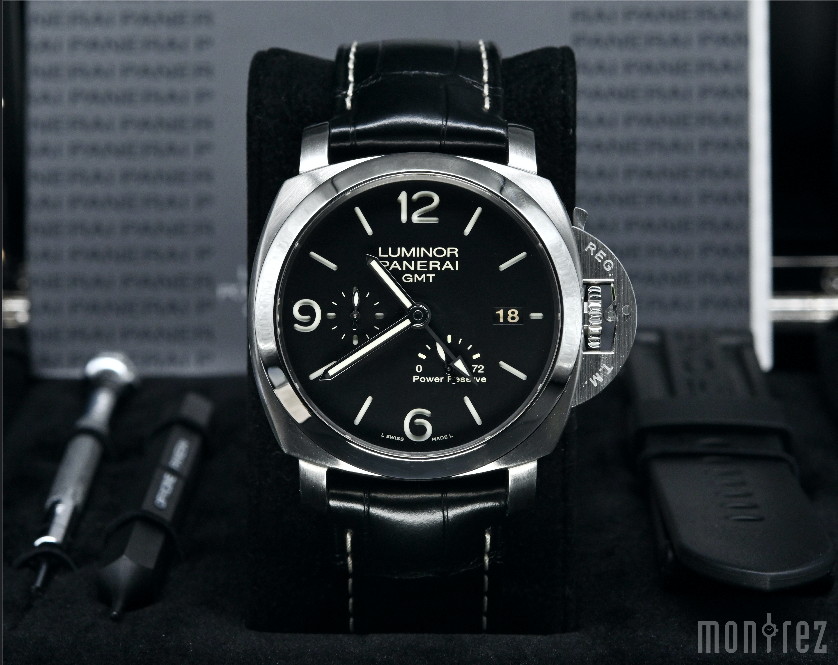 [Pre-Owned Watch] Panerai Luminor Marina 1950 3 Days GMT Power Reserve Automatic 44mm PAM00321 (Out of Production)