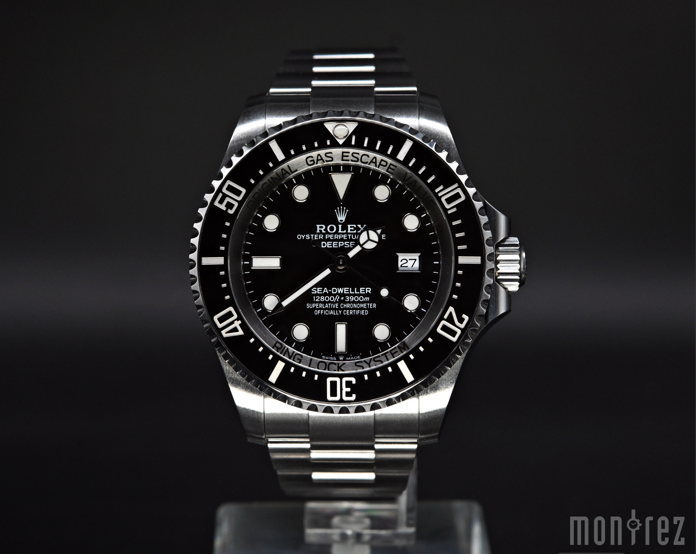 [Pre-Owned Watch] Rolex Deepsea 44mm 126660 Black Dial