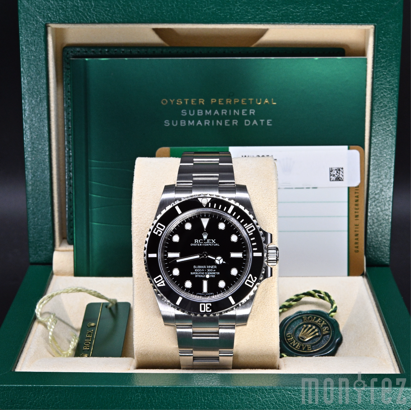 [Pre-Owned Watch] Rolex Submariner No Date 40mm 114060 (Out of Production)