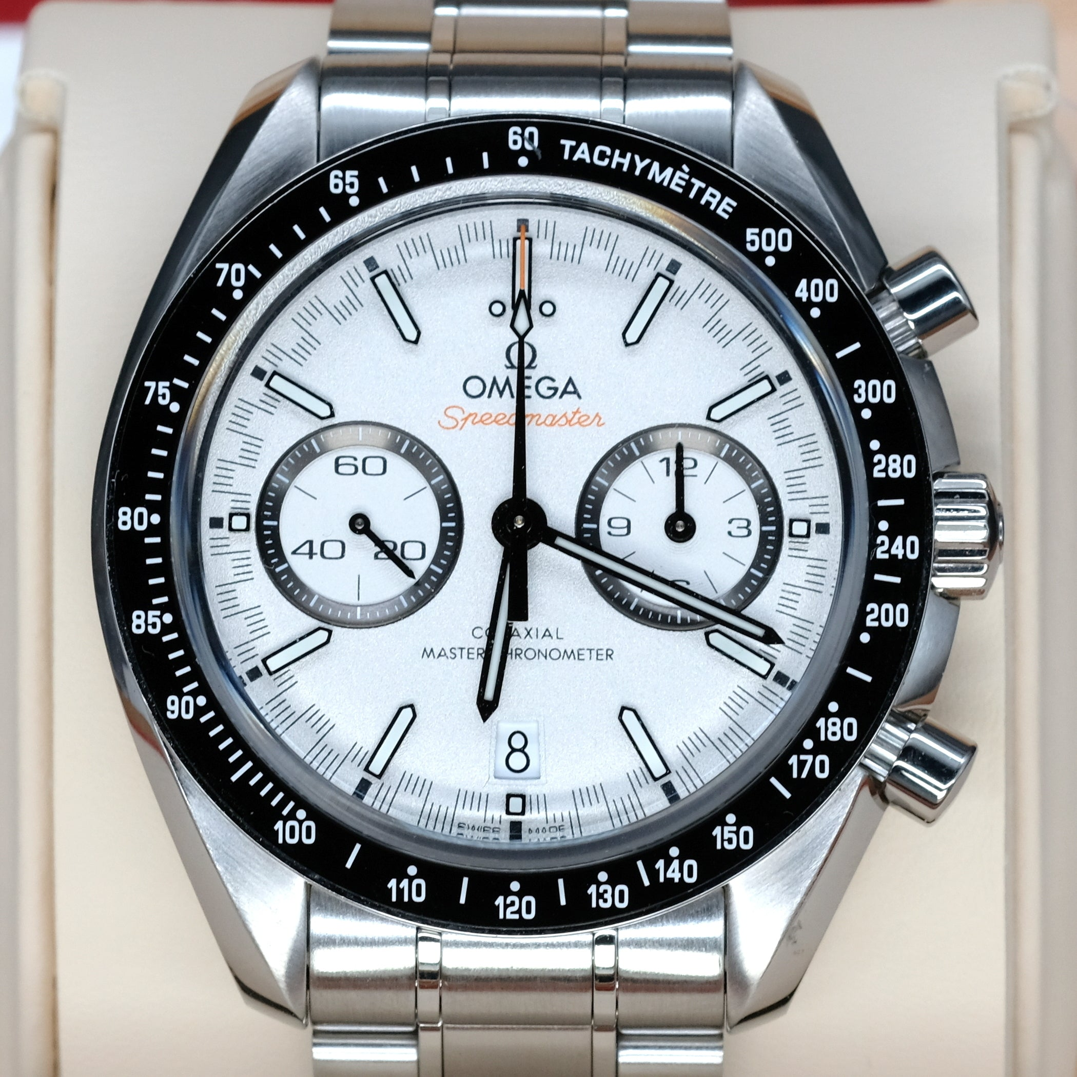 [Pre-Owned Watch] Omega Speedmaster Racing Omega Co-Axial Master Chronometer Chronograph 44.25mm 329.30.44.51.04.001