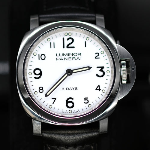 [Pre-Owned Watch] Panerai Luminor Base 8 Days Acciaio 44mm PAM00561