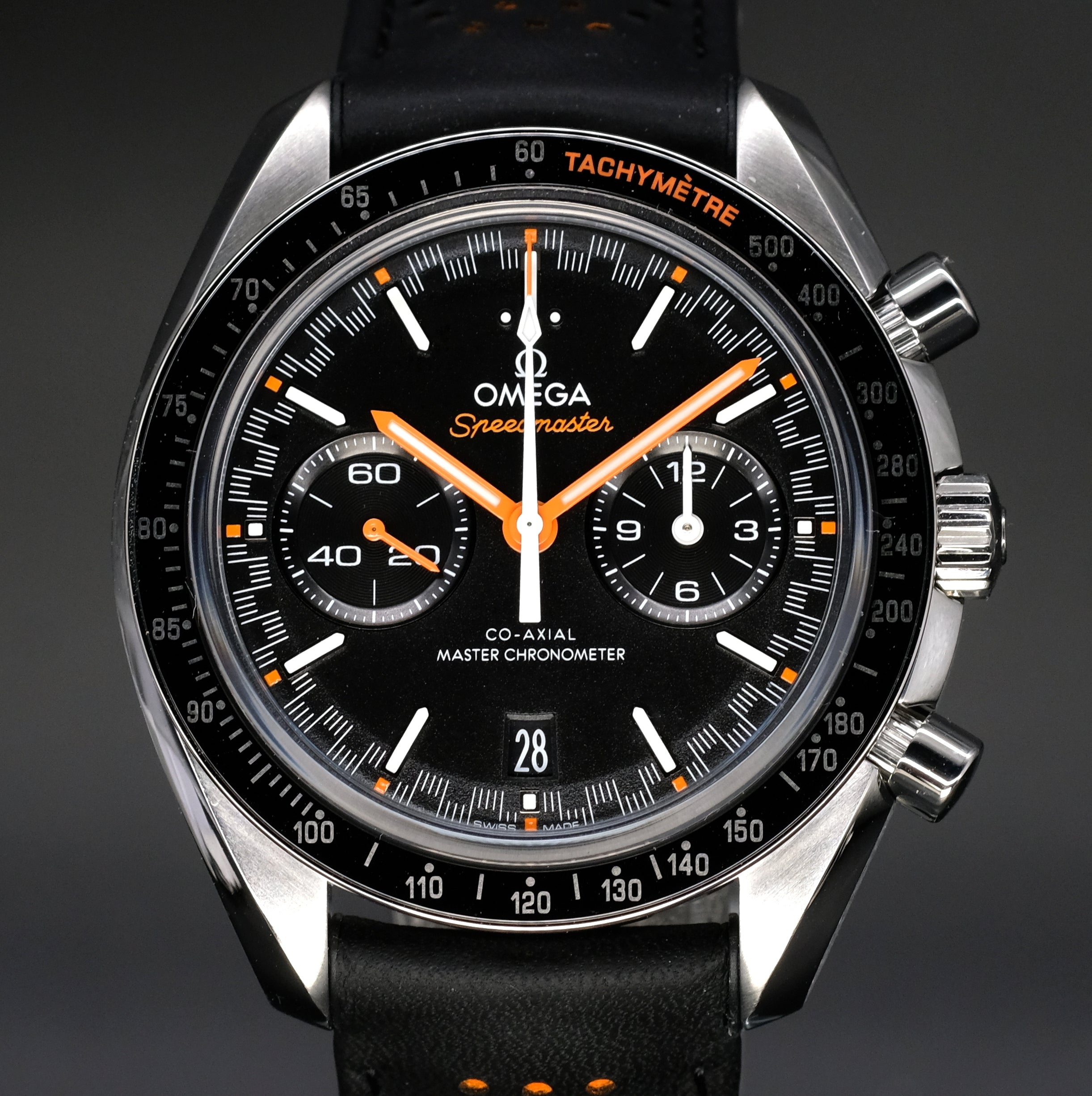 [Brand New Watch] Omega Speedmaster Racing Omega Co-Axial Master Chronometer Chronograph 44.25mm 329.32.44.51.01.001