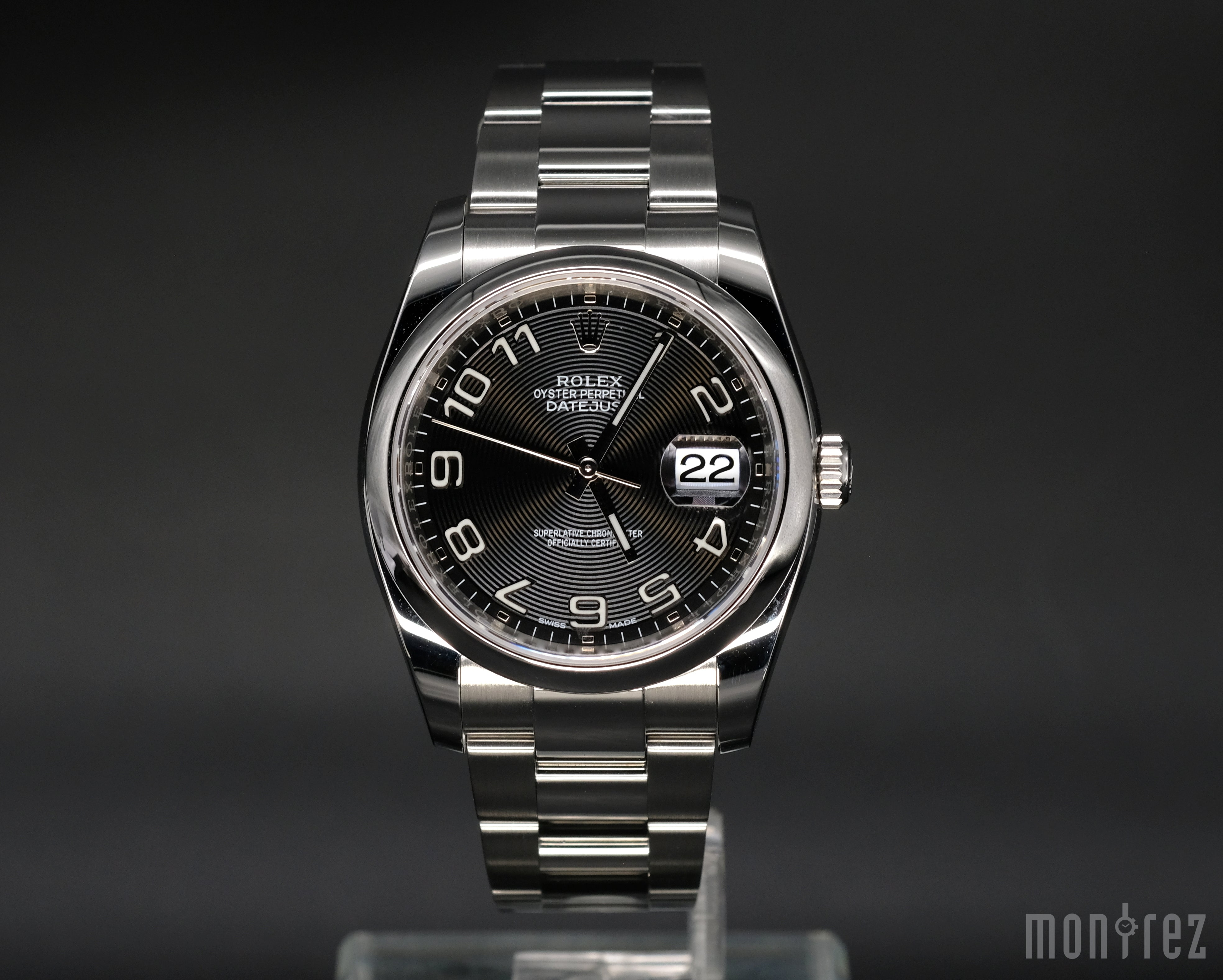 [Pre-Owned Watch] Rolex Datejust 36mm 116200 Black Arabic Numeral Dial (Oyster Bracelet) (888)