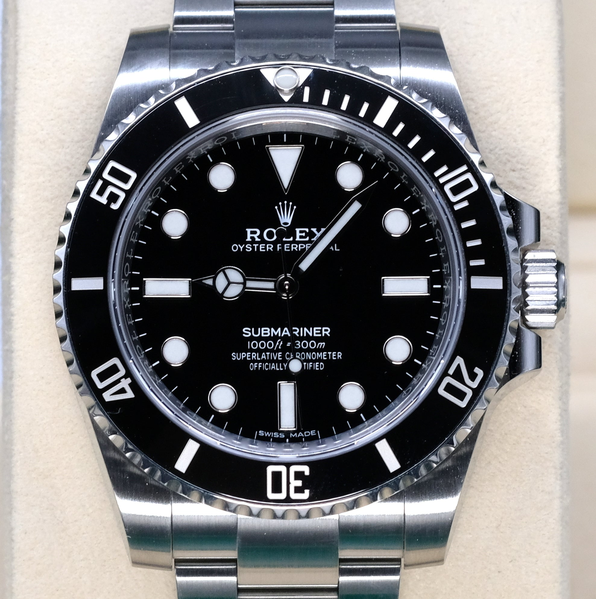 [Pre-Owned Watch] Rolex Submariner No Date 40mm 114060 (888)