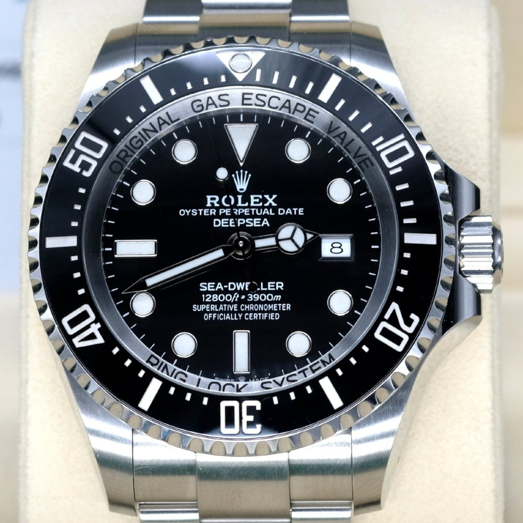 [Pre-Owned Watch] Rolex Deepsea 44mm 126660 Black Dial (2018 Novelty) (888)