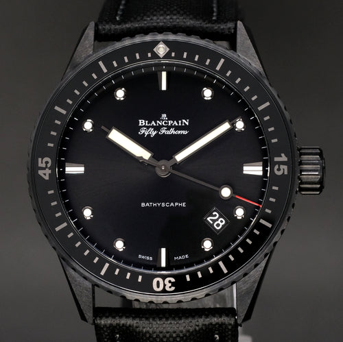 [Brand New Watch] Blancpain Fifty Fathoms Bathyscaphe 43.6mm 5000-0130-B52A