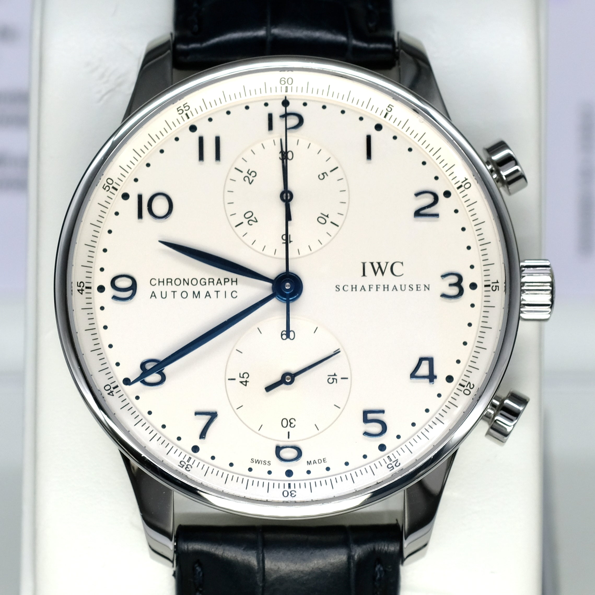 [Pre-Owned Watch] IWC Portuguese Chronograph 41mm IW371446