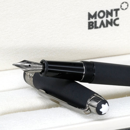[Brand New Accessories] Montblanc Meisterstuck Ultra Matte Black Classique Fountain Pen 114827