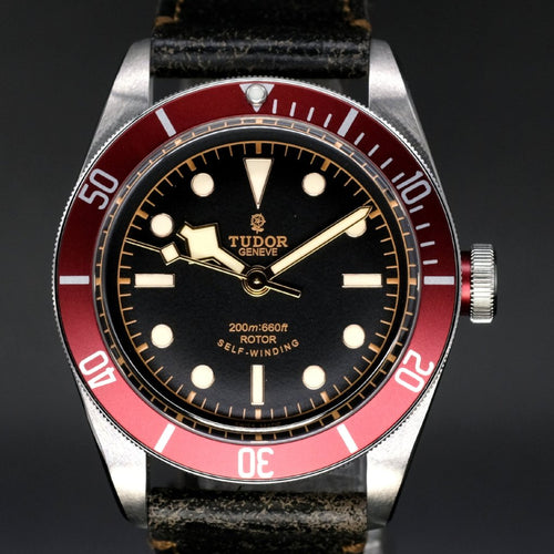[Brand New Watch] Tudor Heritage Black Bay 41mm 79220R (Leather Strap) (Out of Production)
