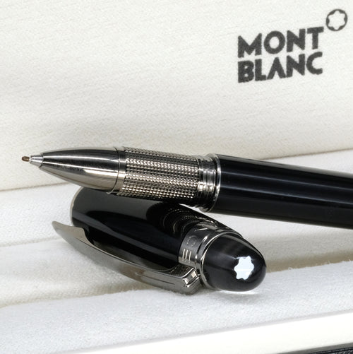 [Brand New Accessories] Montblanc Midnight Black Resin Fineliner 105656