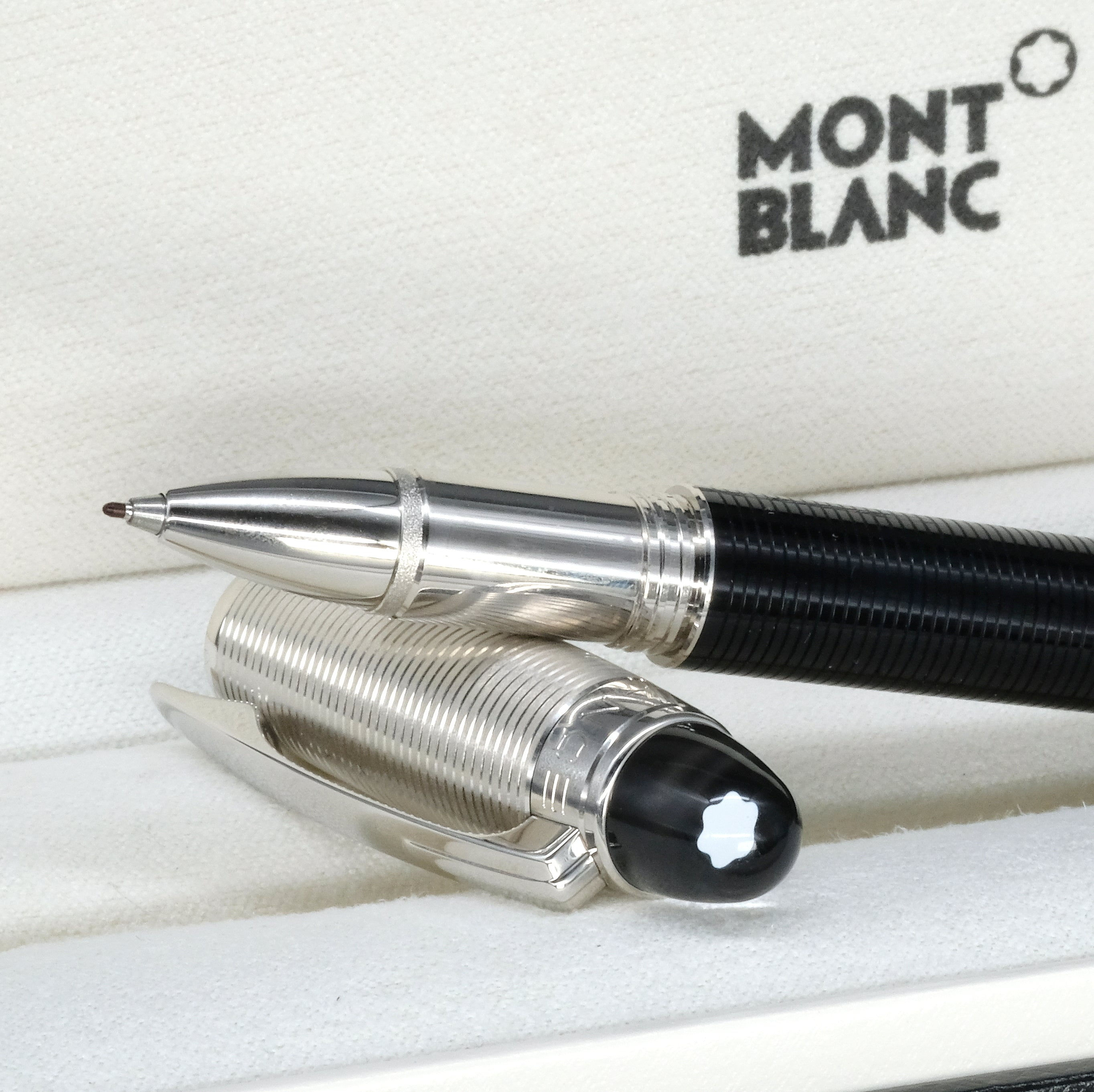 [Brand New Accessories] Montblanc Starwalker Fineliner Rollerball Pen 38011