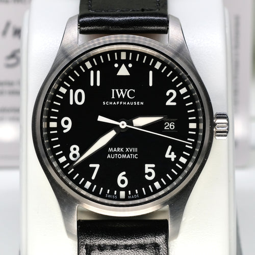 [Pre-Owned Watch] IWC Pilot's Watch Mark XVIII 40mm IW327001