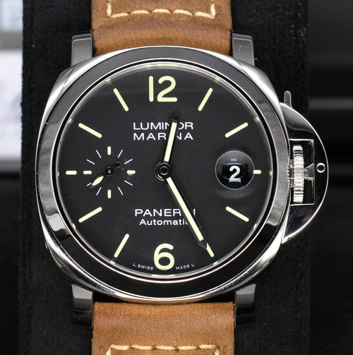[Pre-Owned Watch] Panerai Luminor Marina Automatic Acciaio 40mm PAM01048