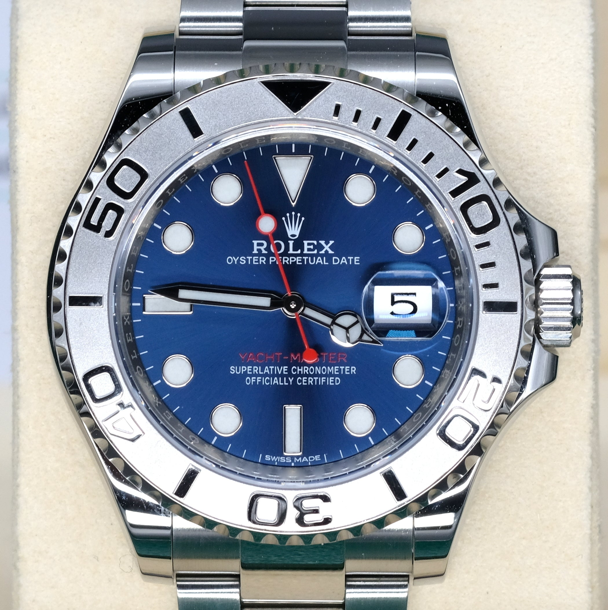 [Pre-Owned Watch] Rolex Yacht-Master 40mm 116622 Blue Dial