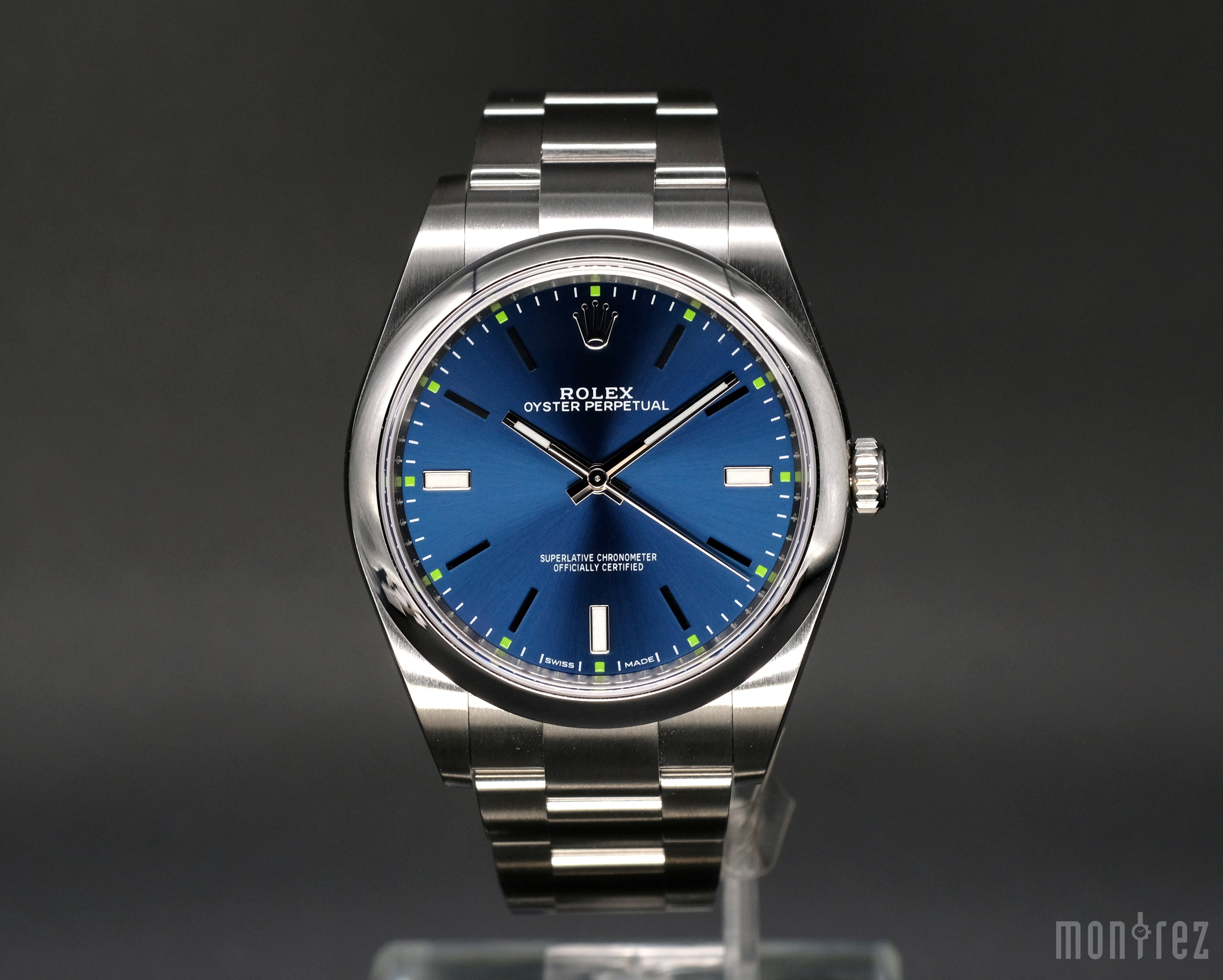 [Brand New Watch] Rolex Oyster Perpetual 39mm 114300 Blue Dial
