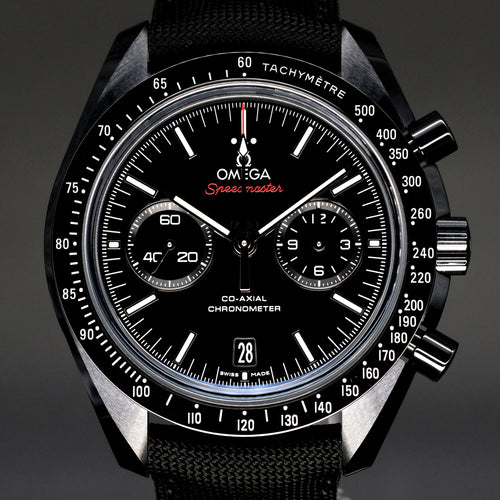 "[Brand New Watch] Omega Speedmaster Moonwatch Co-Axial Chronograph ""Dark Side of the Moon"" 44.25mm 311.92.44.51.01.003"